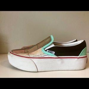 VANs custom designed shoes